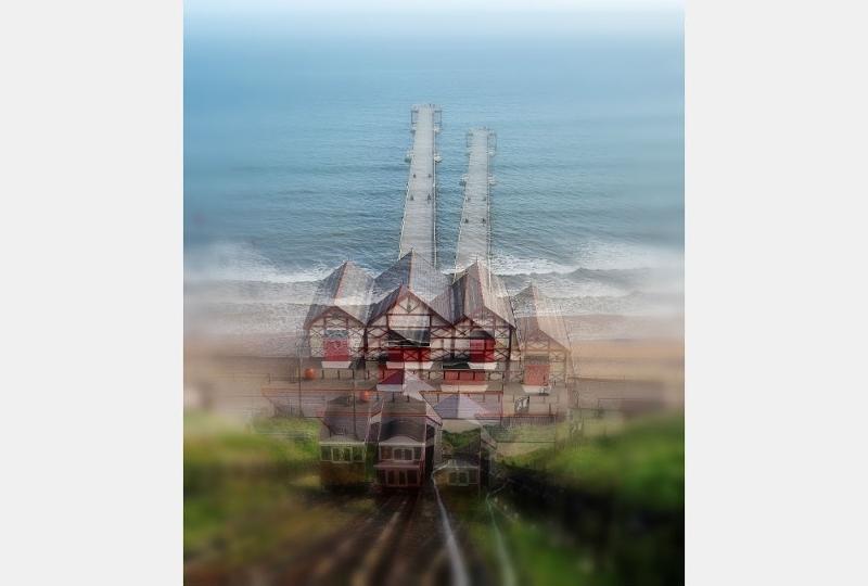 Robert Herringshaw - Divergent Pier, Saltburn-by-the-Sea