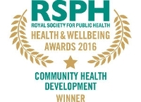 Community Health Development Award 2016 winner logo