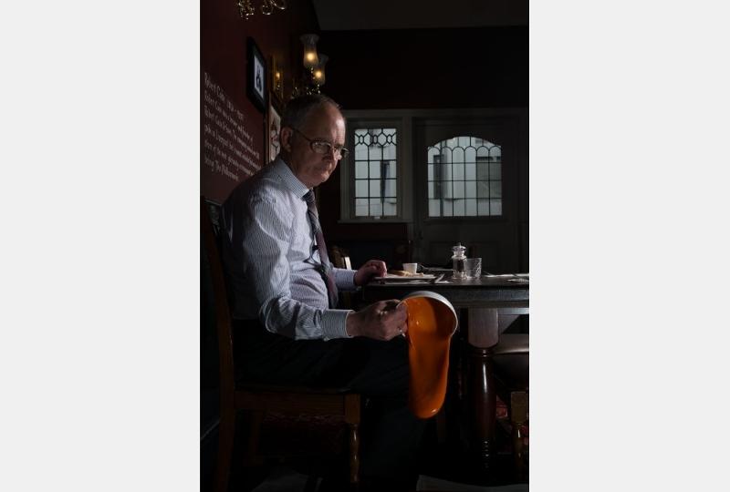 Tadhg Devlin - Roy at a Restaurant