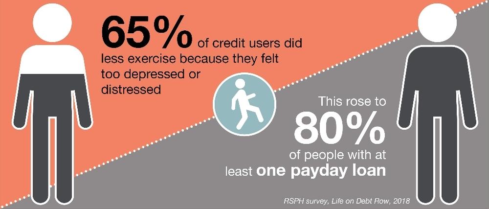 Life on debt row