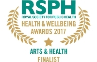 Arts & Health Award 2017 finalist logo