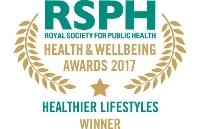 Healthier Lifestyles Award 2017 winner