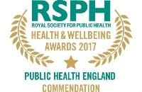 Public Health England 2017 winner logo