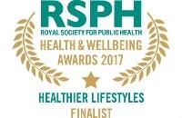 Healthier Lifestyles Award 2017 finalist logo