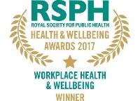 Workplace Health & Wellbeing Award 2017 winner