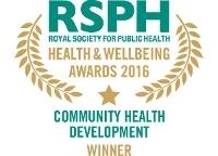 Community Health Development Award 2016 winner logo