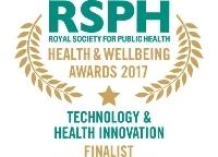 Technology & Health Innovation Award 2017 finalist logo