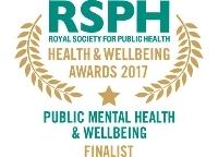 Public Mental Health & Wellbeing Award 2017 finalist logo