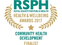 Community Health Development Award 2017 finalist logo
