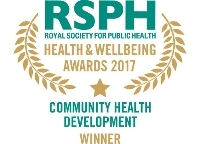 Community Health Development Award 2017 winner logo