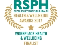 Workplace Health & Wellbeing Award 2017 finalist logo