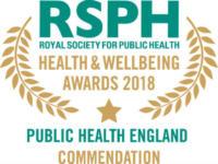 Public Health England Commendation 2018 winner