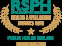 RSPH Public Health England Commendation 2019