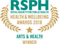 Arts & Health Award logo