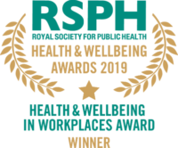 Workplace Health & Wellbeing Award 2019 winner