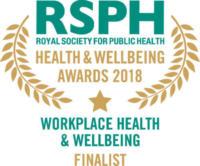 Workplace Health & Wellbeing Award 2018 finalist