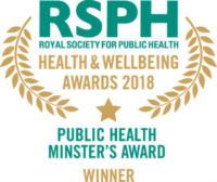 Public Health Minister's Award 2018 winner