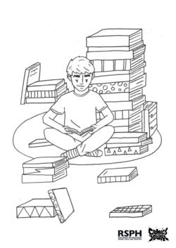 Comics Youth CIC mindfulness colouring