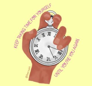 Take time scroll free september