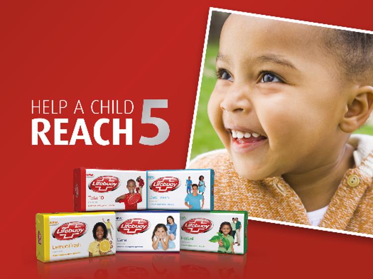 Help a child reach 5