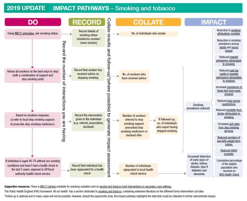 Impact pathways smoking and tobacco